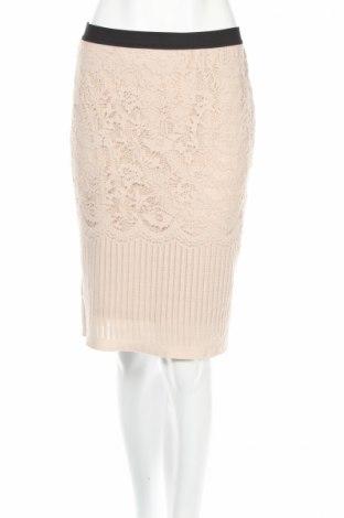 Φούστα H&M, Μέγεθος L, Χρώμα  Μπέζ, Τιμή 10,58€