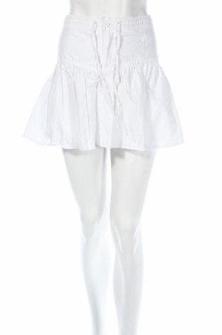 Пола H&M Divided, Размер M, Цвят Бял, Цена 6,40лв.