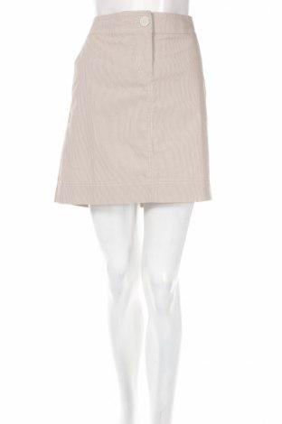 Φούστα Loft By Ann Taylor, Μέγεθος M, Χρώμα  Μπέζ, 68% βαμβάκι, 30% πολυεστέρας, 2% ελαστάνη, Τιμή 4,90€
