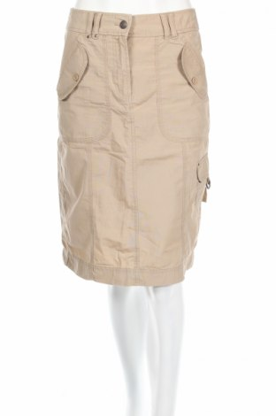 Пола Marks & Spencer, Размер S, Цвят Бежов, 100% памук, Цена 5,75лв.