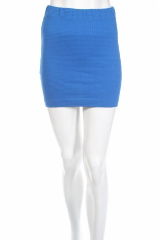 Пола Miss Shop, Размер S, Цвят Син, 97% памук, 3% еластан, Цена 5,51лв.