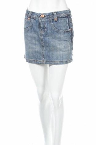 Φούστα Yuka, Μέγεθος S, Χρώμα Μπλέ, 99% βαμβάκι, 1% ελαστάνη, Τιμή 4,35€