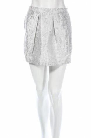 Пола Zara, Размер S, Цвят Сив, Ацетат, Цена 7,80лв.