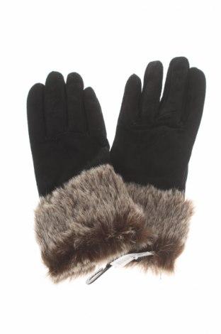 Mănuși, Culoare Negru, Velur natural, Preț 56,00 Lei
