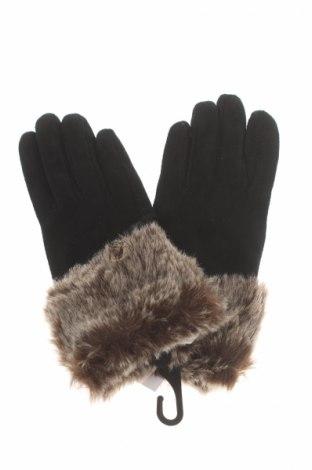 Mănuși, Culoare Negru, Velur natural, Preț 96,00 Lei