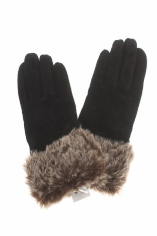 Γάντια, Χρώμα Μαύρο, Φυσικό σουέτ, Τιμή 33,40€