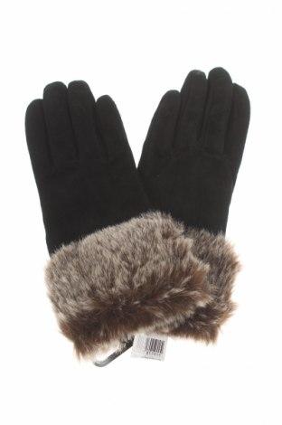 Ръкавици, Цвят Черен, Естествен велур, Цена 54,00лв.