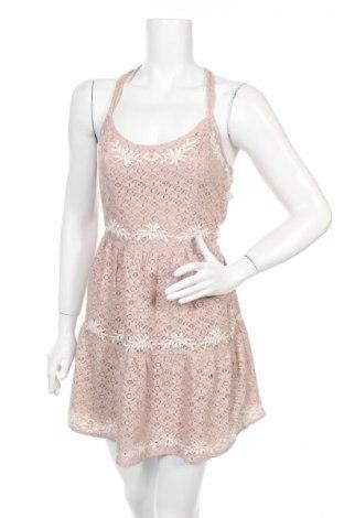Рокля Abercrombie & Fitch, Размер S, Цвят Розов, 82% памук, 18% полиамид, Цена 45,90лв.