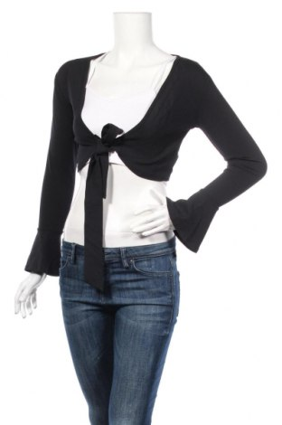 Bolero  Boohoo, Veľkosť S, Farba Čierna, 95% polyester, 5% elastan, Cena  11,87€
