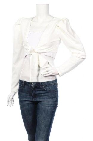 Bolero  Boohoo, Veľkosť S, Farba Biela, 97% polyester, 3% elastan, Cena  9,65€