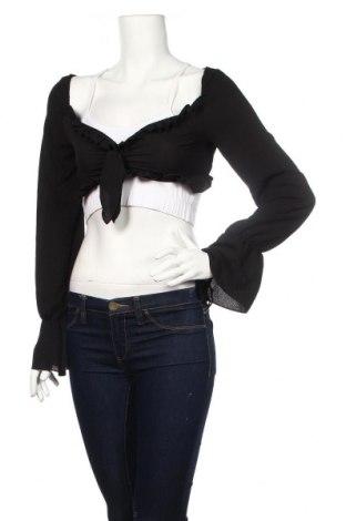 Bolero  Boohoo, Veľkosť M, Farba Čierna, 95% polyester, 5% elastan, Cena  11,87€