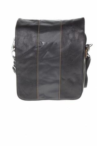 Τσάντα Chivas, Χρώμα Μαύρο, Δερματίνη, κλωστοϋφαντουργικά προϊόντα, Τιμή 10,13€