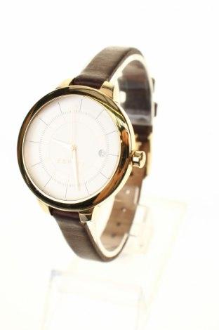 Ρολόι Esprit, Χρώμα Καφέ, Γνήσιο δέρμα, μέταλλο, Τιμή 33,95€