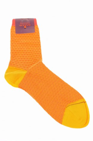 Ponožky Gallo, Rozměr M, Barva Oranžová, 88% bavlna, 11% polyamide, 1% elastan, Cena  396,00Kč