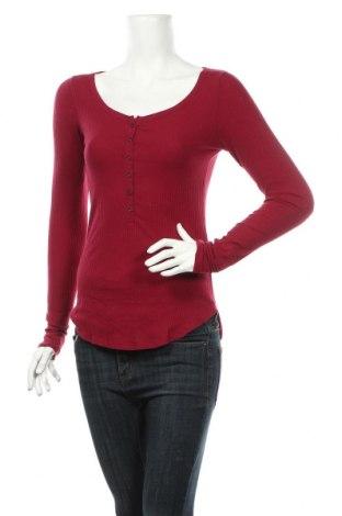 Dámska blúza Abercrombie & Fitch, Veľkosť S, Farba Ružová, 57% bavlna, 38% polyester, 5% elastan, Cena  17,54€