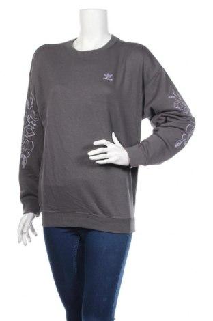Γυναικεία μπλούζα Adidas, Μέγεθος S, Χρώμα Γκρί, 70% βαμβάκι, 30% πολυεστέρας, Τιμή 27,15€