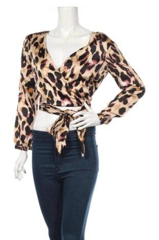 Γυναικεία μπλούζα Boohoo, Μέγεθος XS, Χρώμα Πολύχρωμο, 100% πολυεστέρας, Τιμή 21,64€