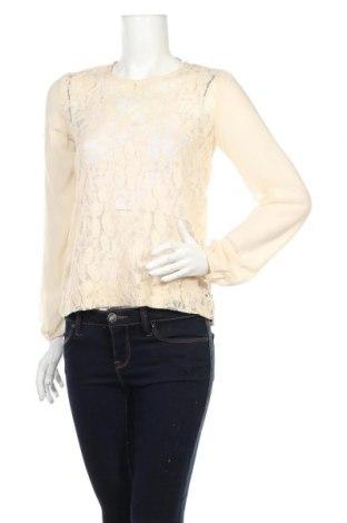 Дамска блуза Esprit, Размер XS, Цвят Бежов, 80% памук, 20% полиестер, Цена 8,20лв.