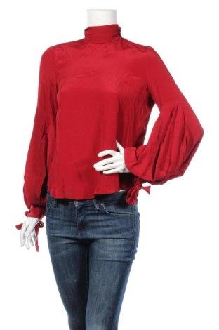 Γυναικεία μπλούζα Mango, Μέγεθος S, Χρώμα Κόκκινο, 96% ασετάτ, 4% μετάξι, Τιμή 17,81€