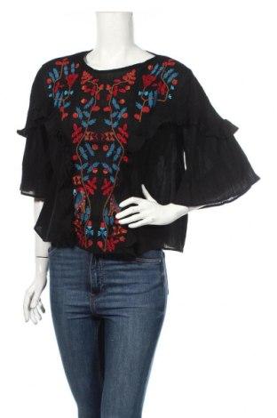 Γυναικεία μπλούζα Mango, Μέγεθος S, Χρώμα Μαύρο, Βαμβάκι, Τιμή 17,07€