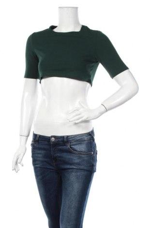 Дамска блуза Nasty Gal, Размер XS, Цвят Зелен, 95% полиестер, 5% еластан, Цена 14,84лв.