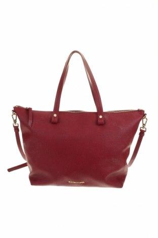 Geantă de femei Borbonese, Culoare Roșu, Piele ecologică, Preț 349,53 Lei