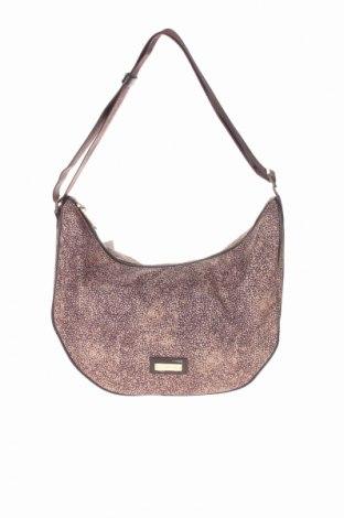 Γυναικεία τσάντα Borbonese, Χρώμα  Μπέζ, Κλωστοϋφαντουργικά προϊόντα, Τιμή 41,56€