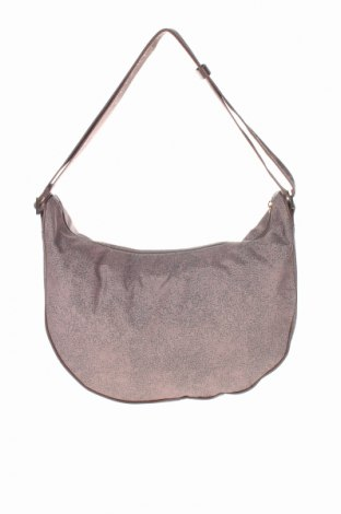 Γυναικεία τσάντα Borbonese, Χρώμα  Μπέζ, Κλωστοϋφαντουργικά προϊόντα, Τιμή 47,54€