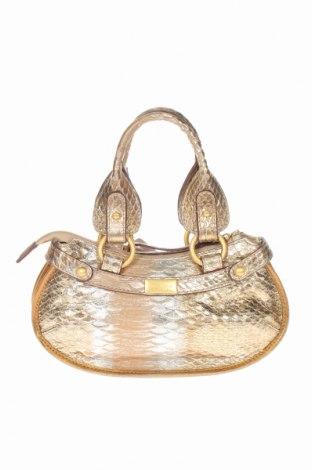 Geantă de femei Coccinelle, Culoare Auriu, Piele naturală, Preț 455,00 Lei