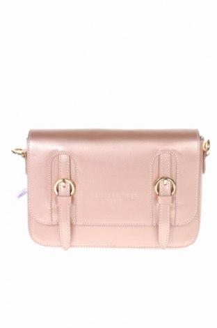 Γυναικεία τσάντα Maison Heritage, Χρώμα Ρόζ , Γνήσιο δέρμα, Τιμή 59,23€