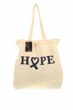 Γυναικεία τσάντα Mango, Χρώμα  Μπέζ, Κλωστοϋφαντουργικά προϊόντα, Τιμή 12,66€