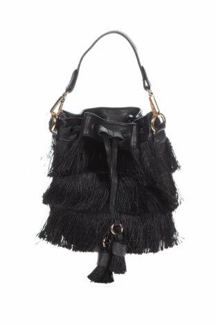 Γυναικεία τσάντα Novo, Χρώμα Μαύρο, Κλωστοϋφαντουργικά προϊόντα, δερματίνη, Τιμή 9,29€