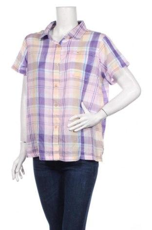 Дамска риза, Размер XL, Цвят Многоцветен, 60% памук, 40% полиуретан, Цена 9,00лв.