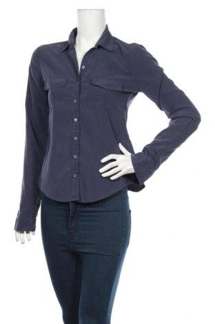 Dámska košeľa  Abercrombie & Fitch, Veľkosť S, Farba Modrá, 75% modal, 25% polyester, Cena  21,00€