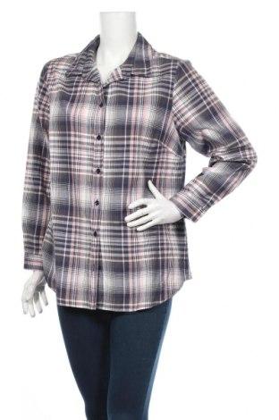 Дамска риза Andre, Размер L, Цвят Многоцветен, Памук, Цена 4,99лв.