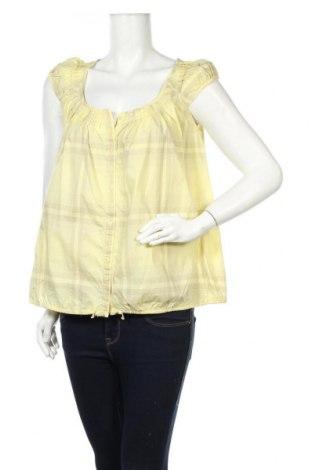 Дамска риза Kookai, Размер M, Цвят Жълт, Памук, Цена 9,10лв.