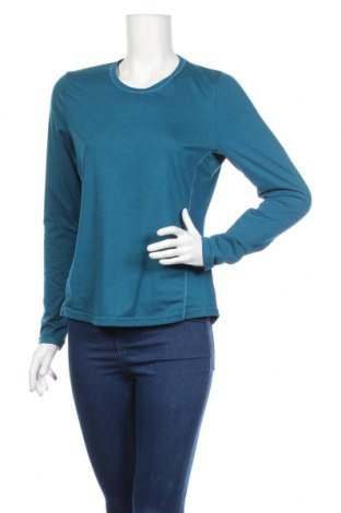 Дамска спортна блуза Active By Tchibo, Размер M, Цвят Син, 88% полиестер, 12% еластан, Цена 15,44лв.
