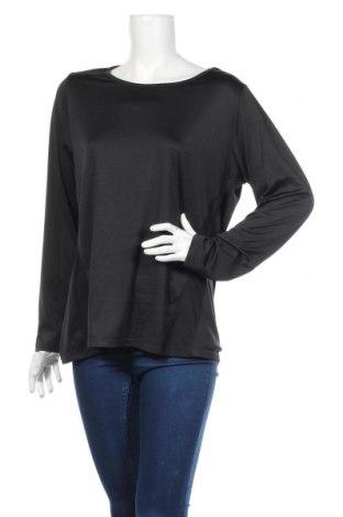 Дамска спортна блуза Active By Tchibo, Размер L, Цвят Черен, 92% полиестер, 8% еластан, Цена 22,64лв.