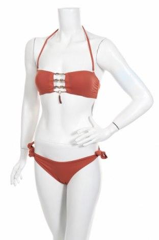 Damski strój kąpielowy Miss Bikini Luxe, Rozmiar M, Kolor Brązowy, 88% poliamid, 12% elastyna, Cena 78,30zł