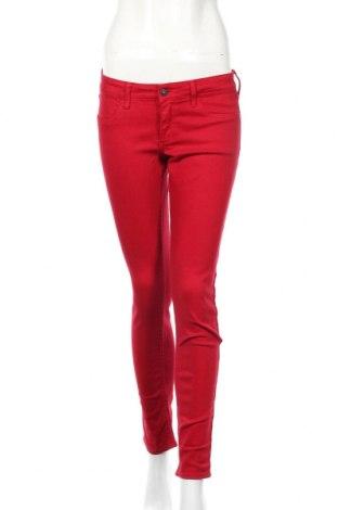 Dámske džínsy  Abercrombie & Fitch, Veľkosť M, Farba Červená, Cena  20,12€