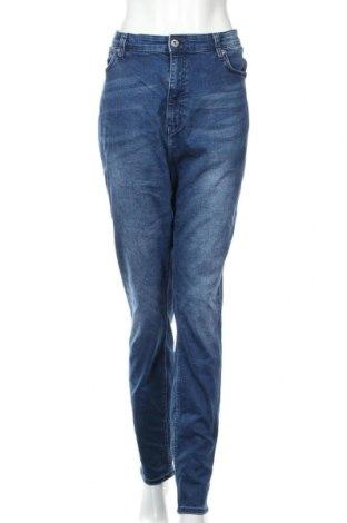 Γυναικείο Τζίν H&M, Μέγεθος XXL, Χρώμα Μπλέ, 98% βαμβάκι, 2% ελαστάνη, Τιμή 14,29€