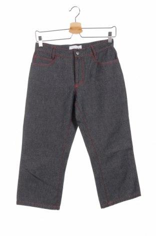Дамски дънки Laltramoda, Размер M, Цвят Сив, 53% памук, 47% полиестер, Цена 14,26лв.