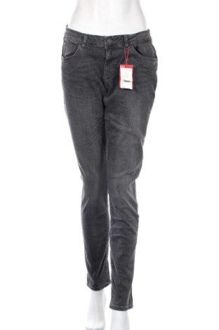 Дамски дънки S.Oliver, Размер M, Цвят Сив, 98% памук, 2% еластан, Цена 35,60лв.