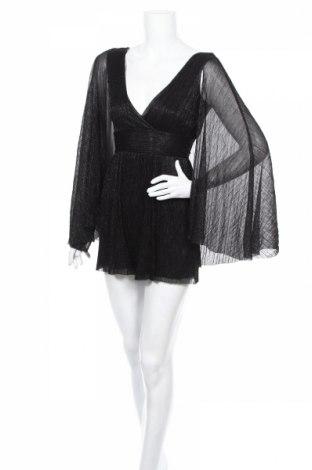 Γυναικεία σαλοπέτα Bershka, Μέγεθος XS, Χρώμα Μαύρο, Πολυεστέρας, Τιμή 20,79€