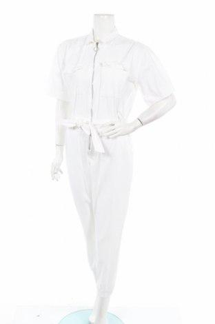 Γυναικεία σαλοπέτα Boohoo, Μέγεθος L, Χρώμα Λευκό, Βαμβάκι, Τιμή 18,19€