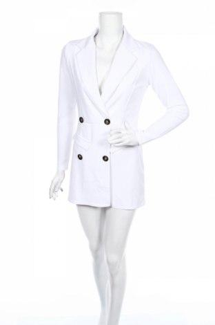 Damski kombinezon Boohoo, Rozmiar M, Kolor Biały, 95% poliester, 5% elastyna, Cena 71,50zł