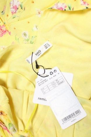 Дамски гащеризон Mango, Размер S, Цвят Жълт, Вискоза, Цена 44,25лв.