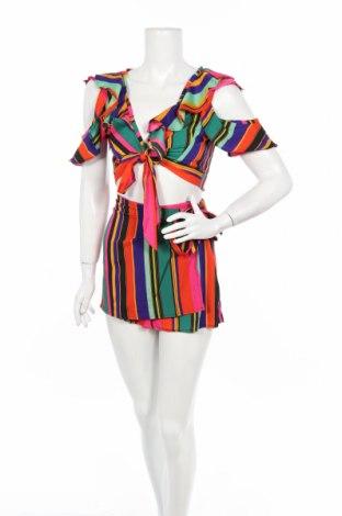 Γυναικείο σετ Boohoo, Μέγεθος XS, Χρώμα Πολύχρωμο, Πολυεστέρας, Τιμή 3,90€