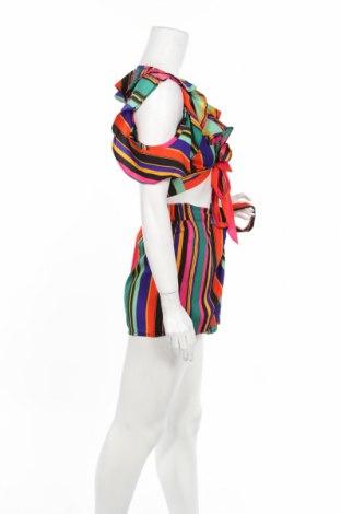 Дамски комплект Boohoo, Размер XS, Цвят Многоцветен, Полиестер, Цена 22,26лв.