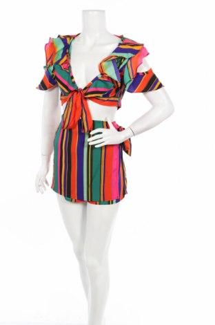 Дамски комплект Boohoo, Размер L, Цвят Многоцветен, Полиестер, Цена 22,26лв.